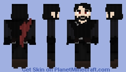 The Vampire of Kindness Minecraft Skin