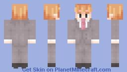 『 Reigen Arataka 』 Minecraft Skin