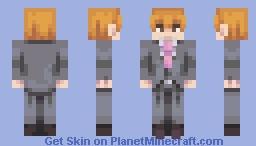 🔮Reigen Arataka   Mob Psycho 100 Minecraft Skin