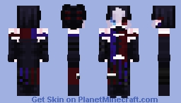 genshin impact oc - reign Minecraft Skin