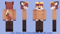 Cozy Fox Minecraft Skin