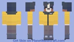 Bernese dog in a jacket Minecraft Skin