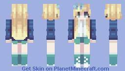 Shades of Blue - REMAKE // 4 Year Improvement Minecraft Skin