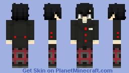 Protagonist (Shujin Academy) - Persona 5 Royal (Summer Uniform, No Glasses alts included) Minecraft Skin