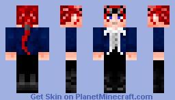 Reno FFVII+ Minecraft Skin