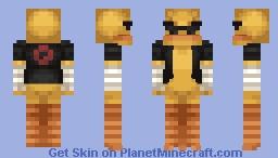 [[Request]] Quack Senior Minecraft Skin