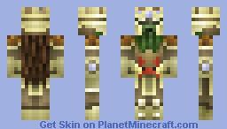 Sand Castle King (Contest Skin) Minecraft Skin