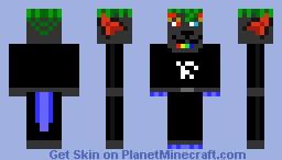 Black Fox Minecraft Skin