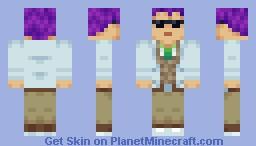 Research Director Minecraft Skin