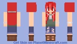 Army Woman --Reshade Entry-- Minecraft Skin