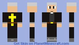 revendered john no beard remake Minecraft Skin