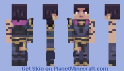Reyna Minecraft Skin
