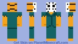 old rick splatterhouse 1988 Made on june 13th 2021 Minecraft Skin