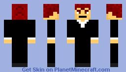 Rick Astley Minecraft Skin