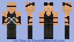 Riddick Skin updated! Minecraft