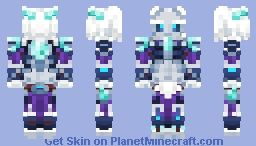 [  Overwatch  ] Rime Sigma Minecraft Skin