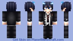 Rin Okumura | Blue Exorcist Minecraft Skin