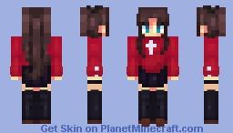 Rin Tohsaka Minecraft Skin