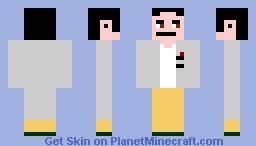 Rintarō Okabe Minecraft Skin