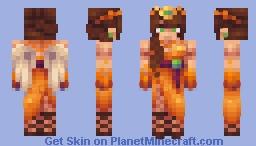 Rising Pheonix Minecraft Skin