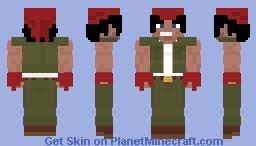 Ralf KOF 99 Minecraft Skin