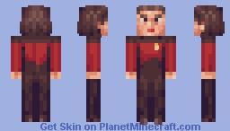 Ensign Ro Laren Star Trek TNG Minecraft Skin