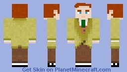 Robert Lutece -Bioshock Infinite [1.8 Ready] Minecraft Skin