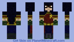 Robin (Arkham City) Minecraft Skin