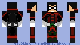 Robin (Damian Wayne Infinite Frontier Minecraft Skin
