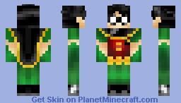 Robin (Anniversary Edition) Minecraft Skin
