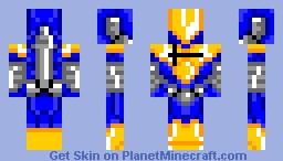Zero Blue Minecraft Skin