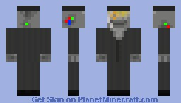 Robot In A Suit Minecraft Skin