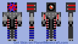 super robot [fix] Minecraft Skin