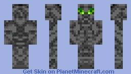 Cyberpunk robot (contest) with story! Minecraft Skin