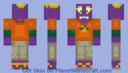 Rocker Munch Minecraft Skin