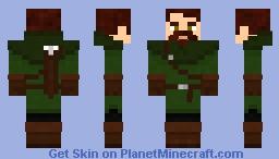 Rogue / Huntsman Minecraft Skin
