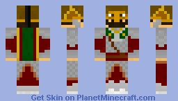 Rohirrim Royal Guard Minecraft Skin