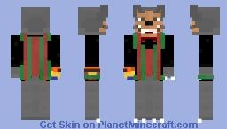 Rolfe the Wolfe Animatronic (Rockafire Explosion) - by harperhusky Minecraft Skin
