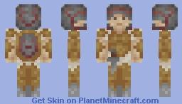 Roman Gladiator Minecraft Skin
