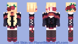 🌹 Rose Witch [OC] 🌹 Minecraft Skin