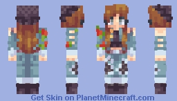 Rosie Rebel Minecraft Skin