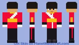 ROTC Cadet Officer Minecraft Skin
