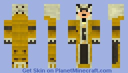 MH3 Royal Ludroth Armor Minecraft Skin
