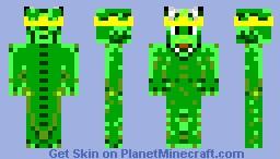 Royal Dragon Skin Minecraft Skin