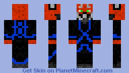 rpg skin blue tron
