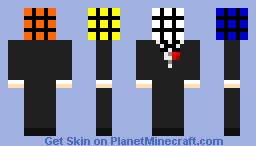 Rubik's Cube Minecraft Skin