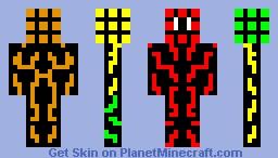 Rubik's cube man [My Personal Skin] Minecraft Skin
