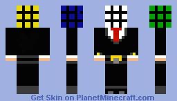 Rubiks man Minecraft Skin