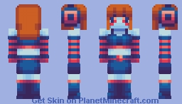 Ruby // ChorusCraft Minecraft Skin