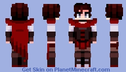 Ruby Rose | RWBY Minecraft Skin